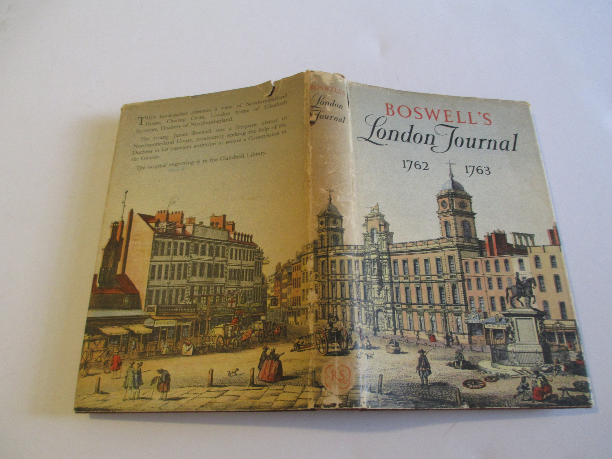 Boswell's London Journal 1762-1763. As First Published in 1950 from the  Original MSS: Amazon.co.uk: James Boswell: 9780748602629: Books