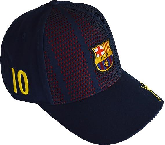 FC Barcelona - Gorra oficial del FC Barcelona para niño: Amazon.es: Deportes y aire libre