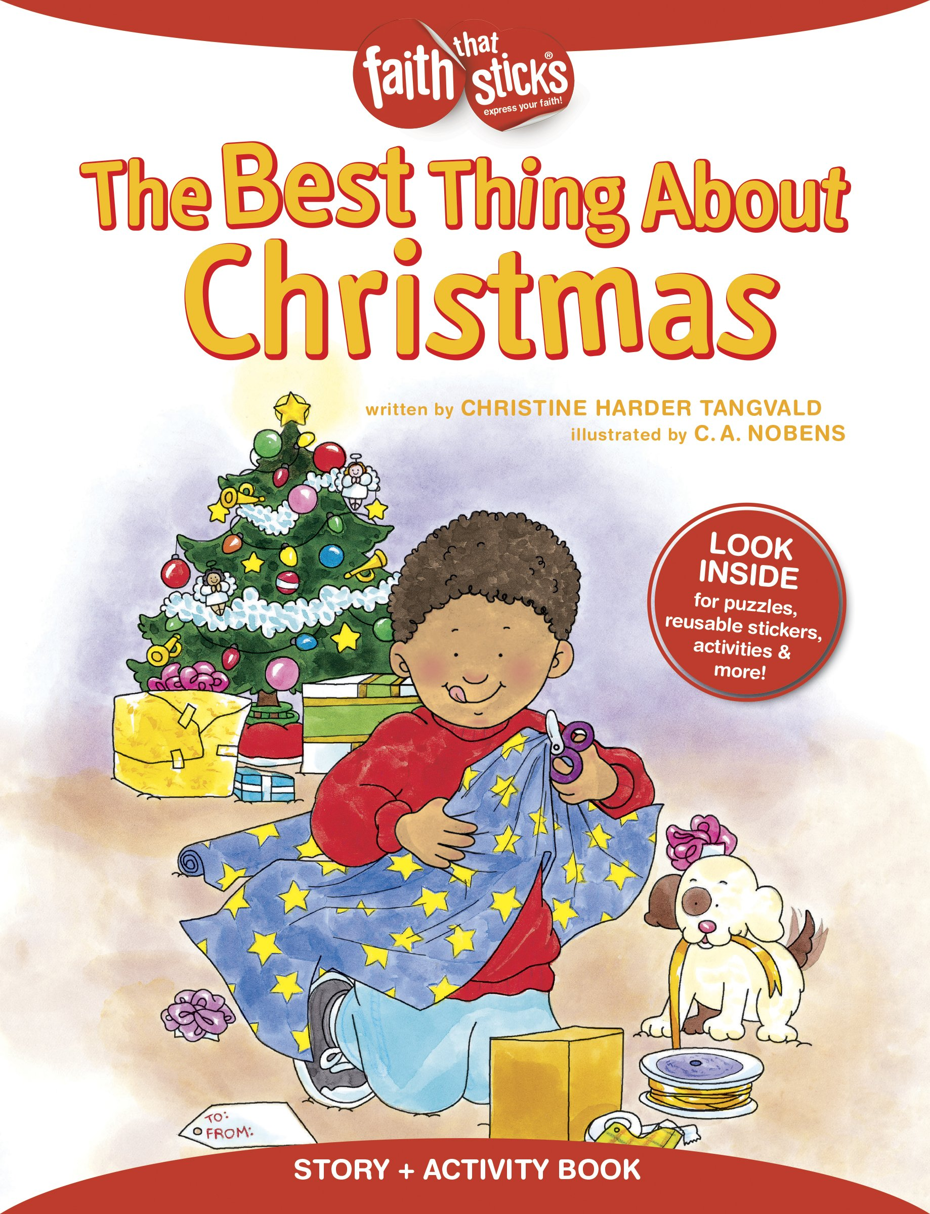 The Best Thing About Christmas (Faith That Sticks Books) PDF ePub book