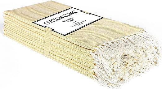 Clinica de algodon 6 Paños de Cocina 100% Algodon 40 x 66 cm ...