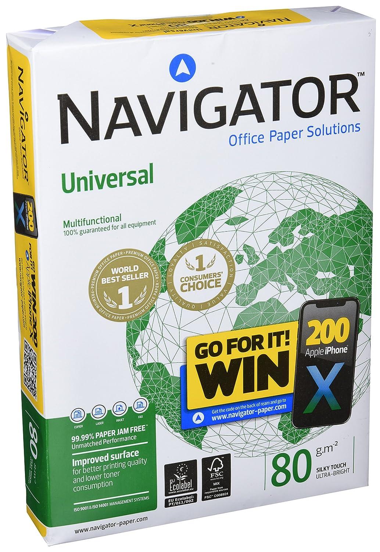 Navigator Eco-Logical Carta Premium per ufficio 75 gr 1 risma da 500 Fogli Formato A4
