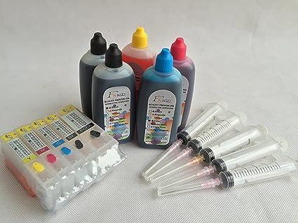 Marca f-ink @ pgi-450 cli-451 Kits de recarga de tinta para Canon ...