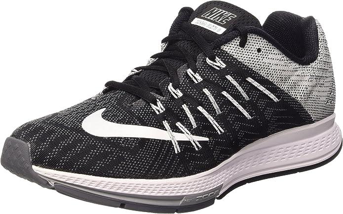 Nike Air Zoom Elite 8, Zapatillas de Running para Hombre, Negro/Blanco/Gris (Black/White-Wolf Grey-Drk Grey), 44 EU: Amazon.es: Zapatos y complementos