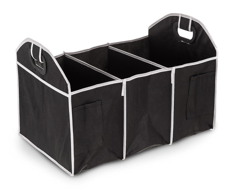 2-IN-1 de maletero organizador de la compra alta resistencia plegable de almacenaje LIVIVO