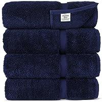 Set of 4 Chakir Turkish Linens Turkish Cotton Luxury Hotel & Spa Bath Towel