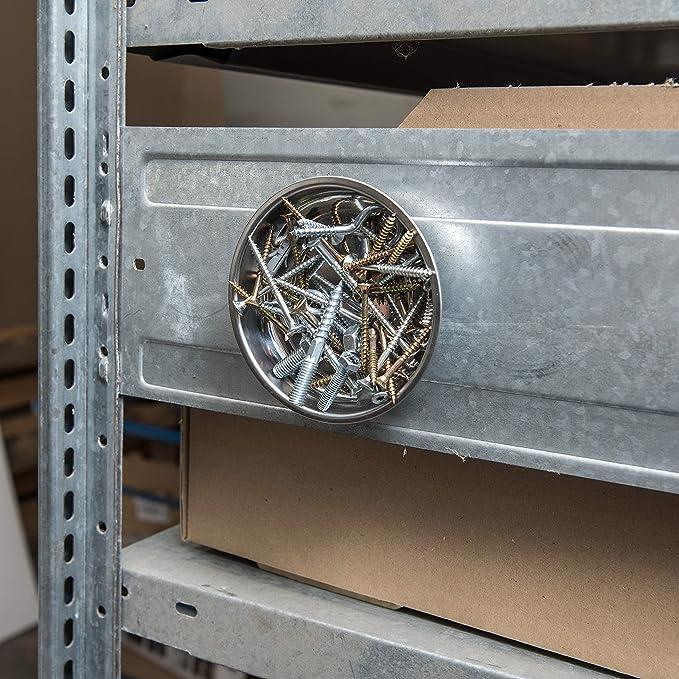 Werkzeyt B28912 Vaschetta Porta minuteria in Metallo Magnetica //Ø10,8cm