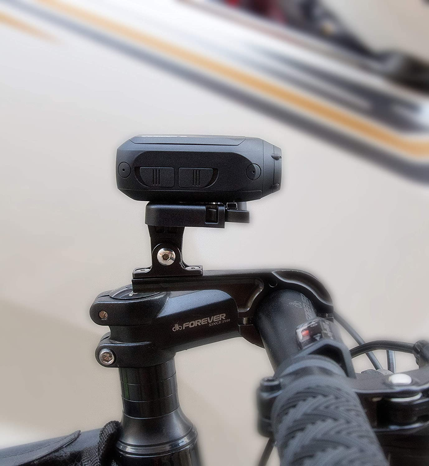 Navitech Cycle//Bike//Bicycle /& Motorbike Roll Bar Mount Compatible With The DRIFT GHOST X