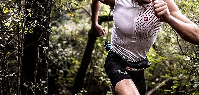 Compressport Unisex Free Belt Black Sports Running Lightweight Pockets