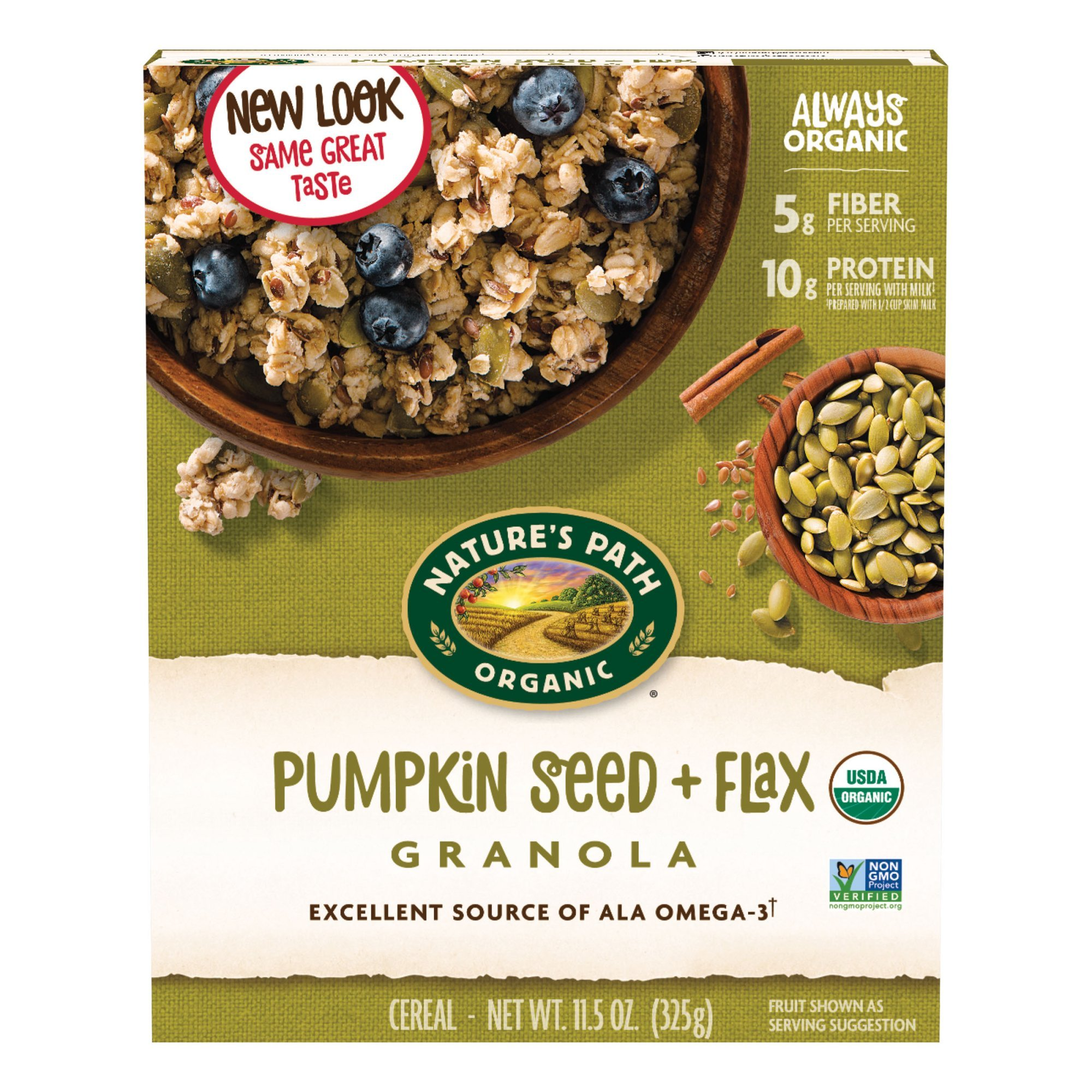 Amazon.com: Natures Path Organic Pumpkin Seed & Flax, 35.3