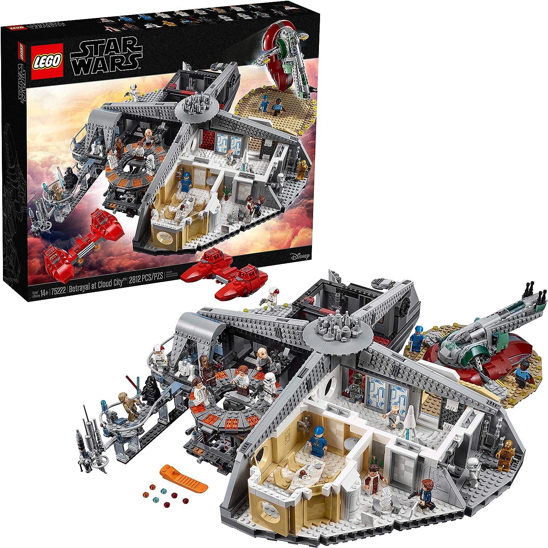 LEGO Star Wars - Traición en Ciudad Nube, set de construcción para ...