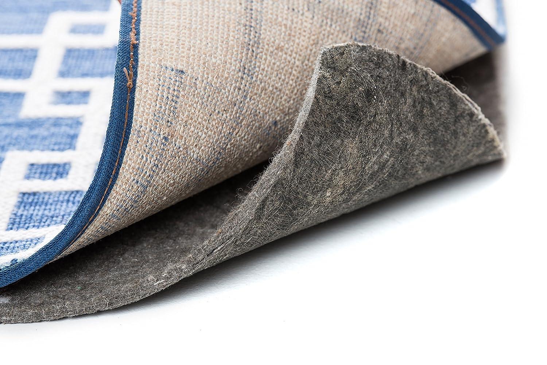 Nance Industries Great Grip Non Skid Premium Rug Pad Keeps Rug in Place 5 Feet By 8 Feet Anti Slip Rug Pad Cushion