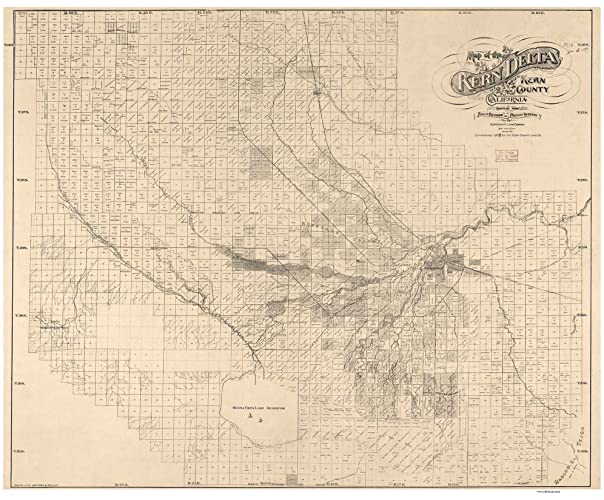 Kern County Section Map Of California on detailed map of kern county california, topographic regions of california, lines maps of california, gemstone mine map southern california, map of madera county california,