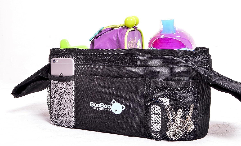 Universal Cup Holder Bag Stroller Organizer Bag Baby Carriage Pram Buggy Cart Ha