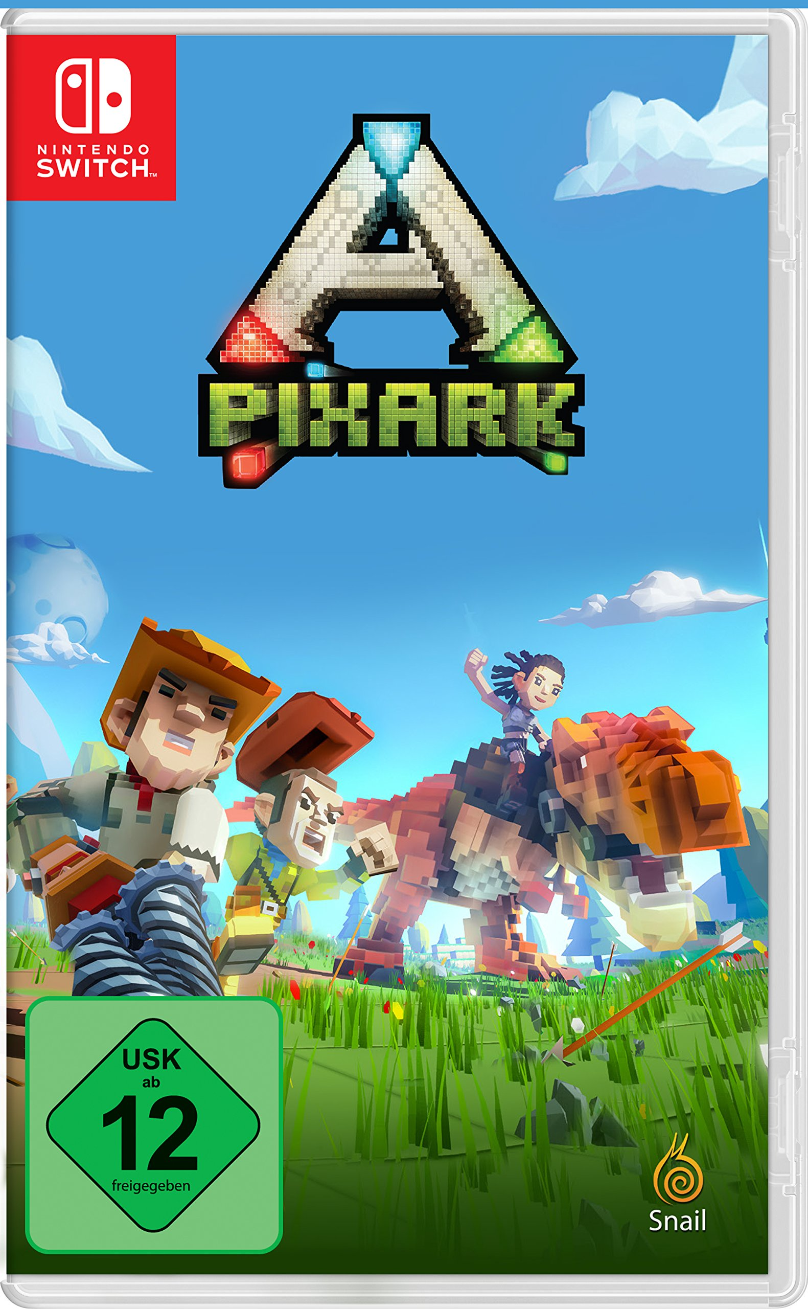 PixARK (Nintendo Switch): Amazon.es: Libros