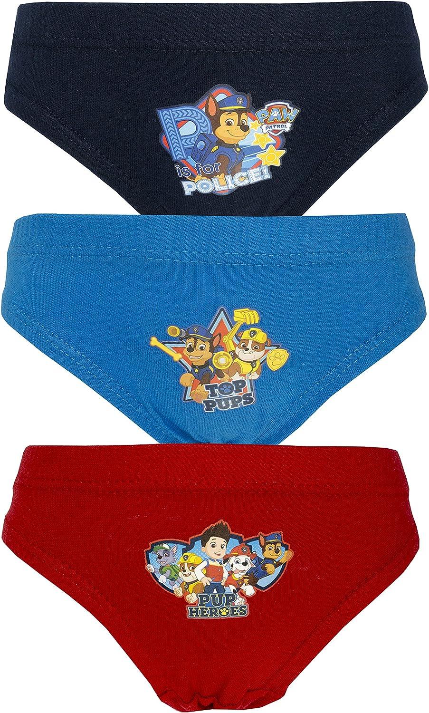 3 Pack Nickleodeon Boys Paw Patrol Pants//Briefs Various Designs 18 Months 5