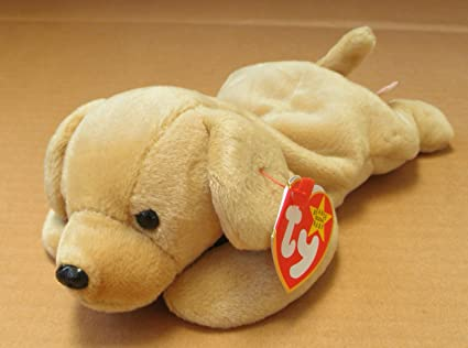 6c1e5a4155e Image Unavailable. Image not available for. Color  TY Beanie Babies Fetch  the Golden Retriever Dog Stuffed Animal Plush Toy ...
