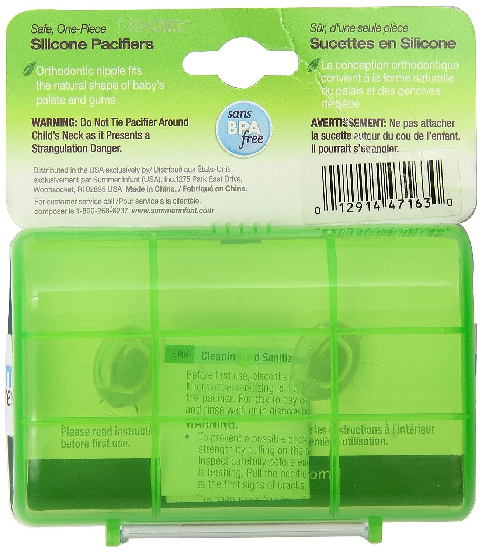 Amazon.com: Born Free, sin BPA) Bliss ortodoncia chupete ...