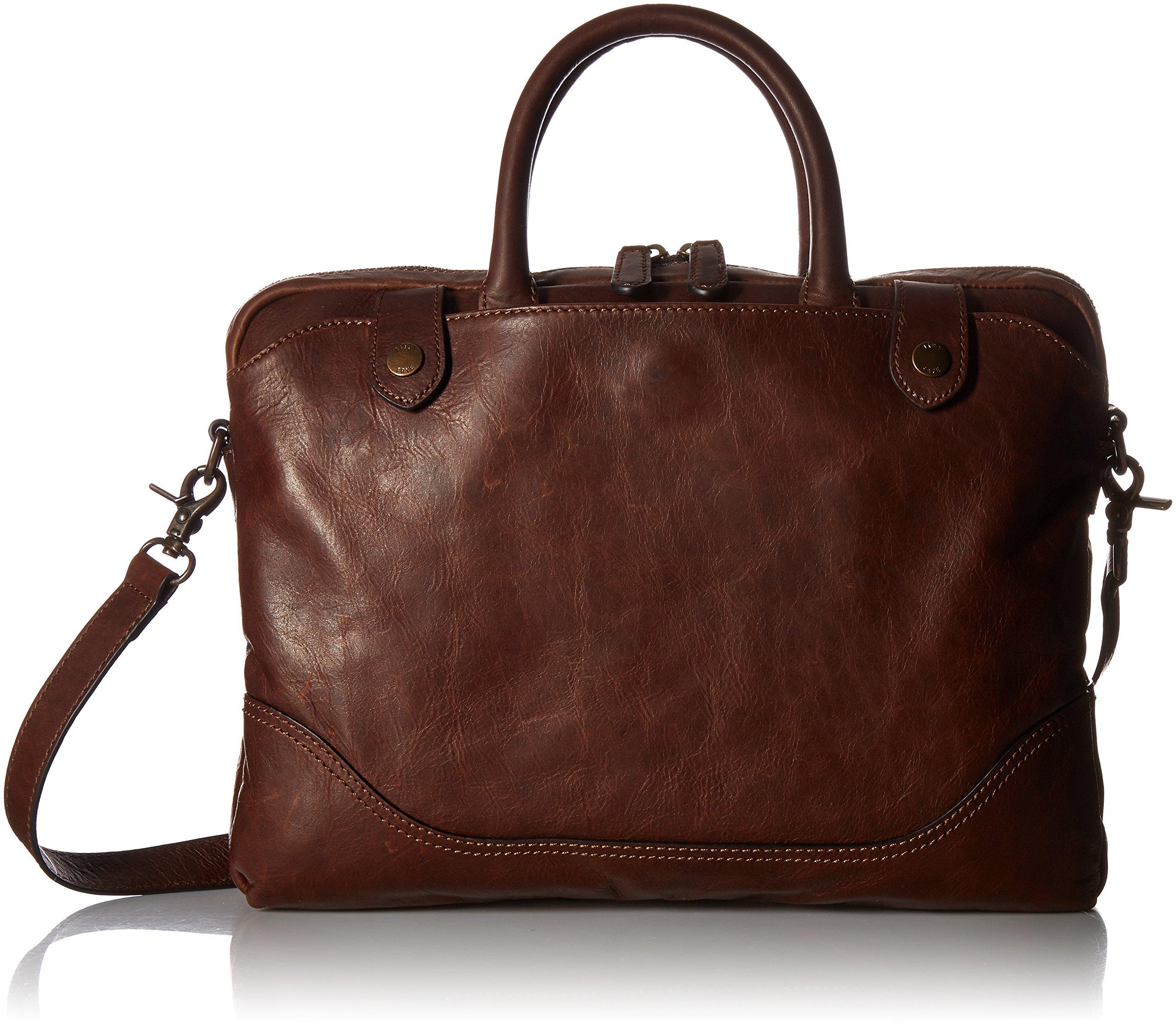 Frye Men's Logan Slim Zip Briefcase by FRYE