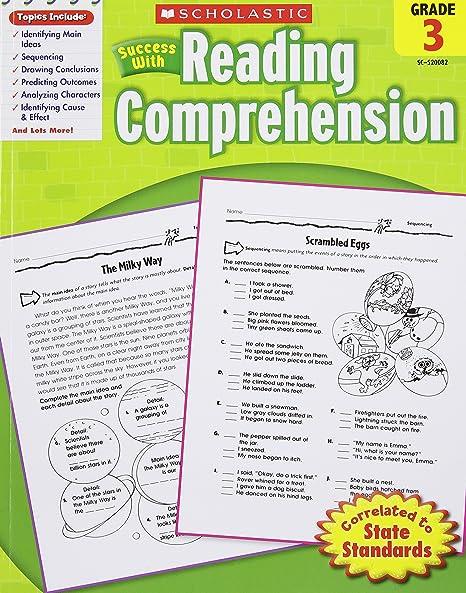 Scholastic Success with Reading Comprehension, Grade 3: Scholastic ...