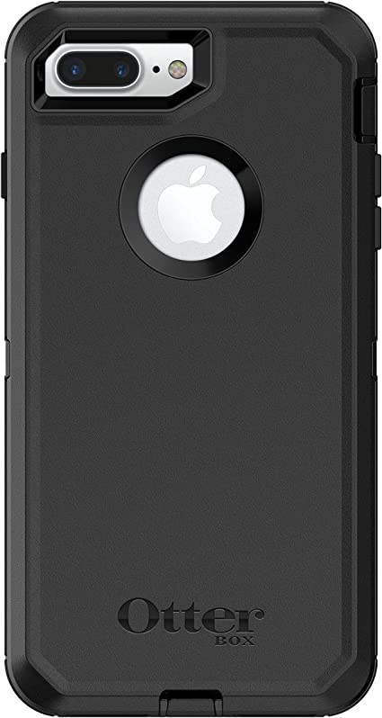 Amazon Com Otterbox Defender Series Case For Iphone 8 Plus Iphone 7 Plus Only Retail Packaging Black