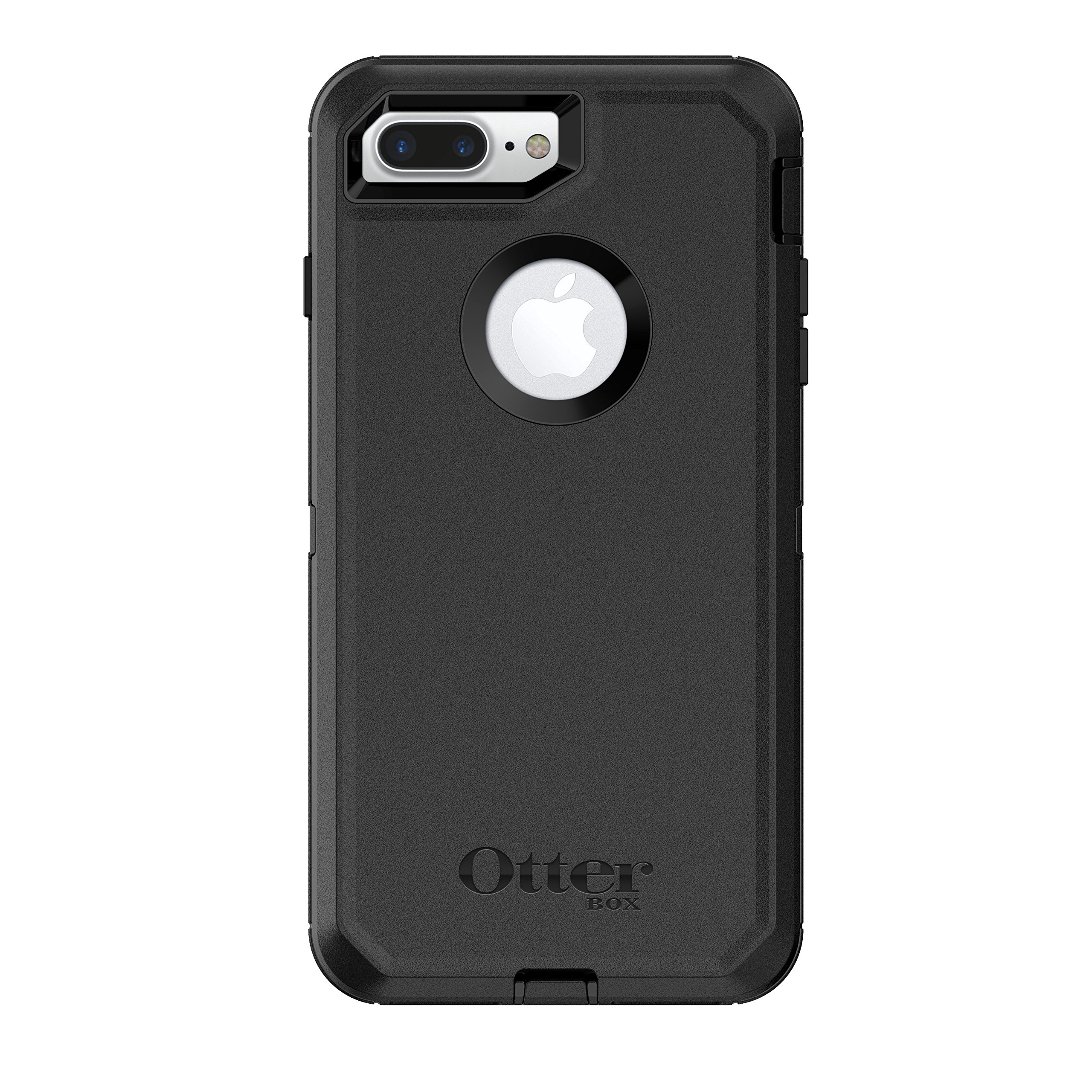 OtterBox Defender Series Case for iPhone 8 Plus & iPhone 7 Plus (Only) - Retail Packaging - Black by OtterBox