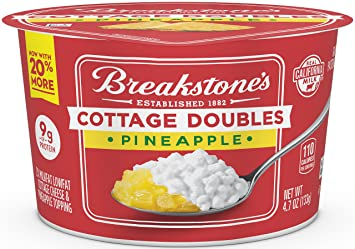 breakstone cottage doubles pineapple 4 7 oz amazon com grocery rh amazon com breakstone cottage doubles nutrition breakstone cottage doubles pineapple