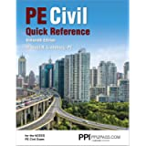 PPI PE Civil Quick Reference, 16th Edition – A Comprehensive Reference Guide for the NCEES PE Civil Exam