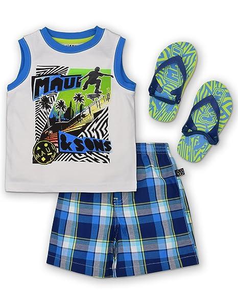 Amazon.com: Maui & Sons bebé Boys conjunto de 3 piezas ...