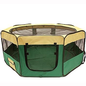 MOOL - Mascota Pen/Valla/jaula con techo/lona de suelo y bolsa de ...