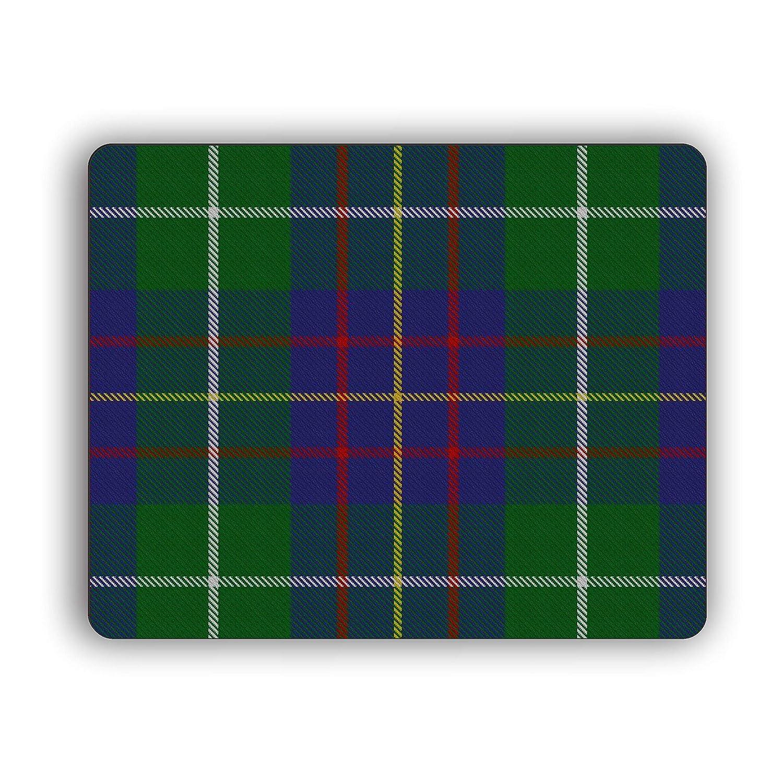 Burns Scottish Clan Tartan Crest Computer Mouse Pad