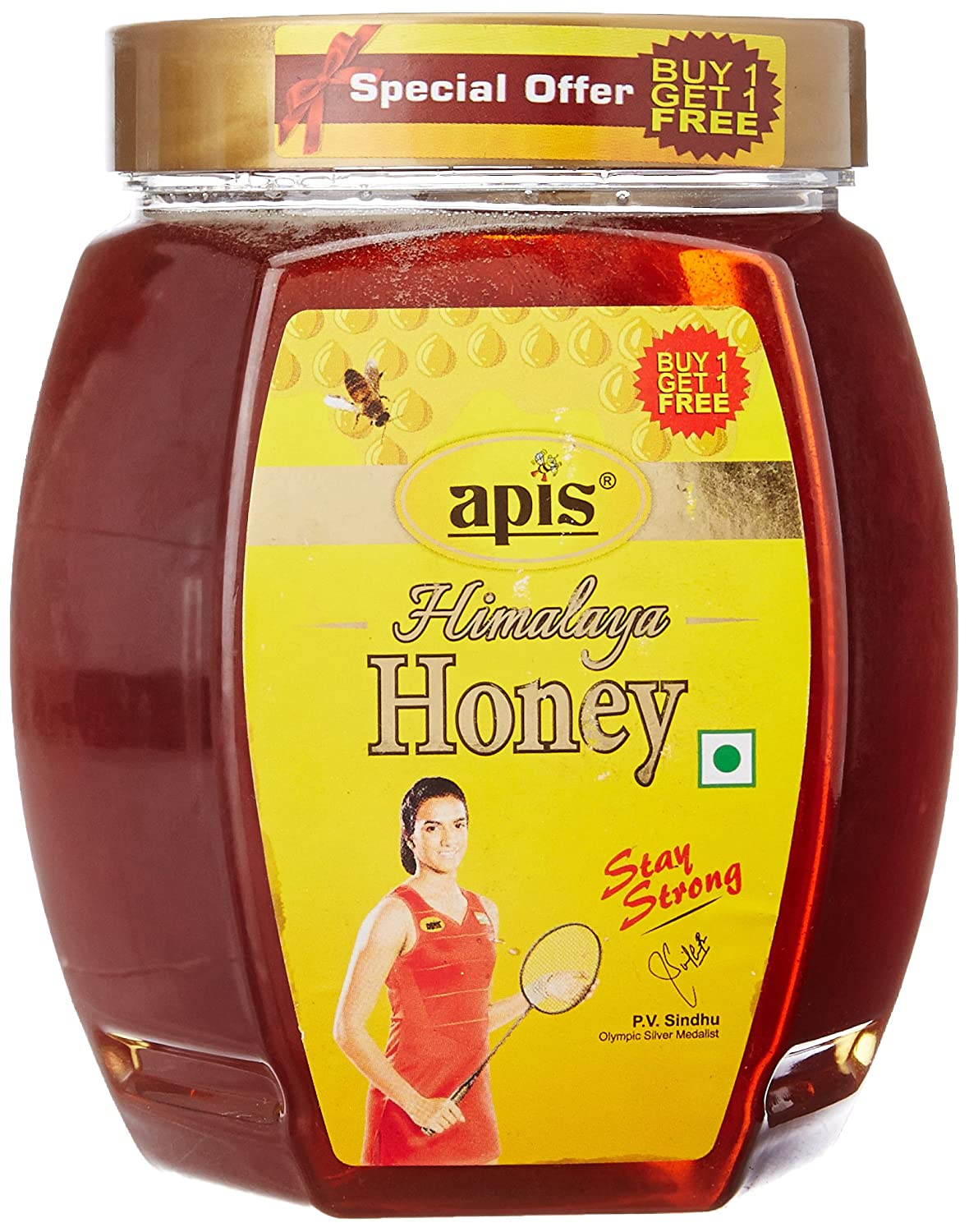 Apis Himalaya Honey, 1kg (Buy 1 Get 1 Free)