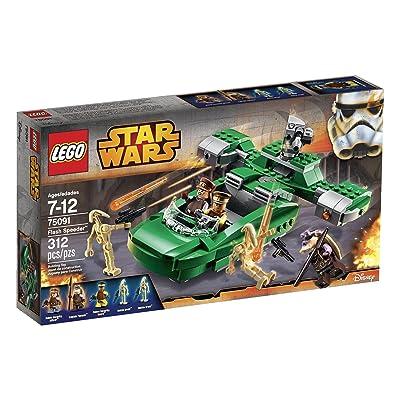 LEGO Star Wars Flash Speeder 75091 Building Kit: Toys & Games