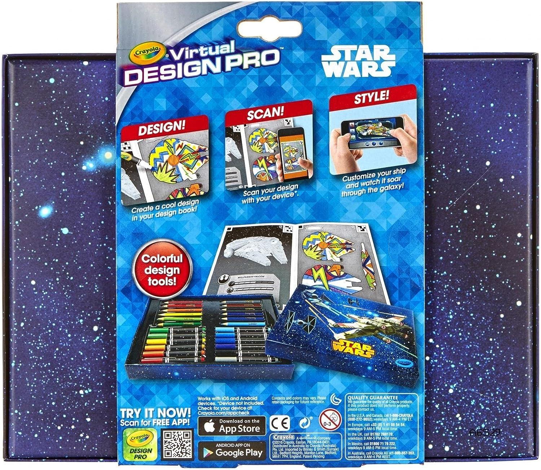 Amazon Com Crayola Star Wars Color Alive Virtual Design Pro Portfolio Free Ios Android App Bring Designs To Life Toys Games