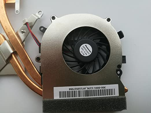 wangpeng Replacement Fan for Sony Vaio VPCEB VPCEA VPCEC Series CPU Cooling Fan with Heatsink UDQFRZH14CF0 300-0001-1276 300-0001-1276/_A 3-Pin 3-Wire