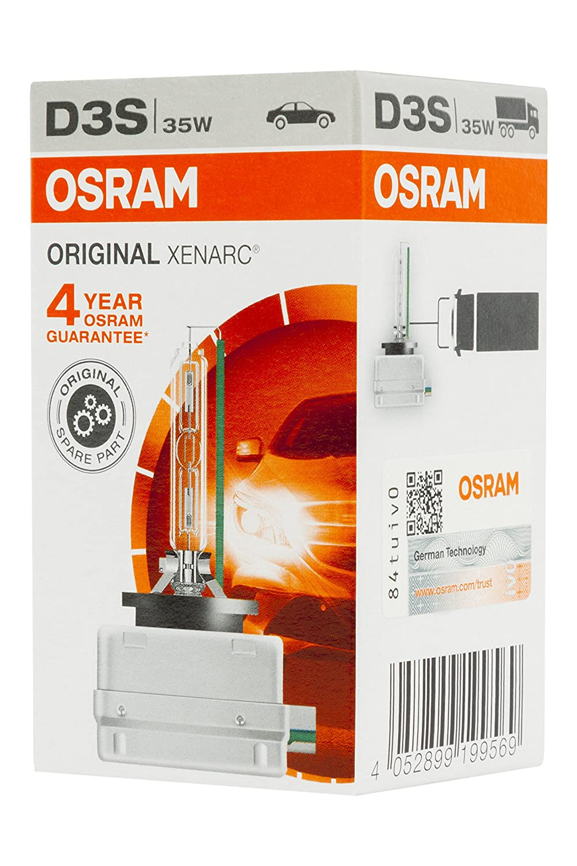 2 St/ück Duobox Entladungslampe 66340XNB-HCB Osram XENARC NIGHT BREAKER UNLIMITED D3S HID Xenon-Brenner