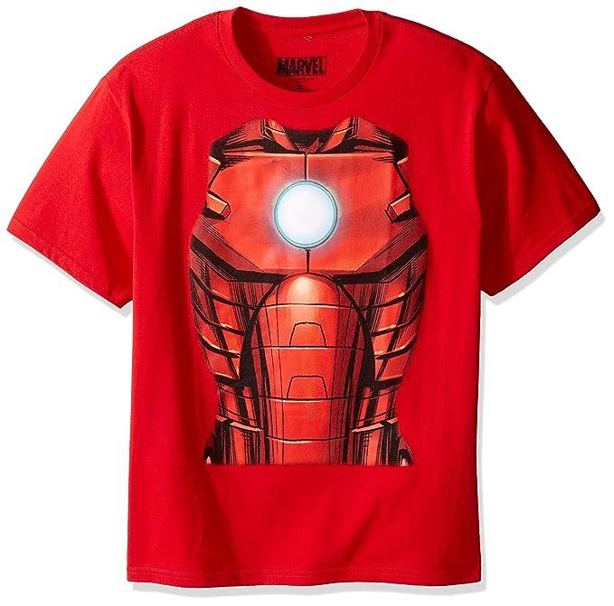 6000f31dfa Amazon.com  Marvel Boys  Iron Man T-Shirt  Clothing