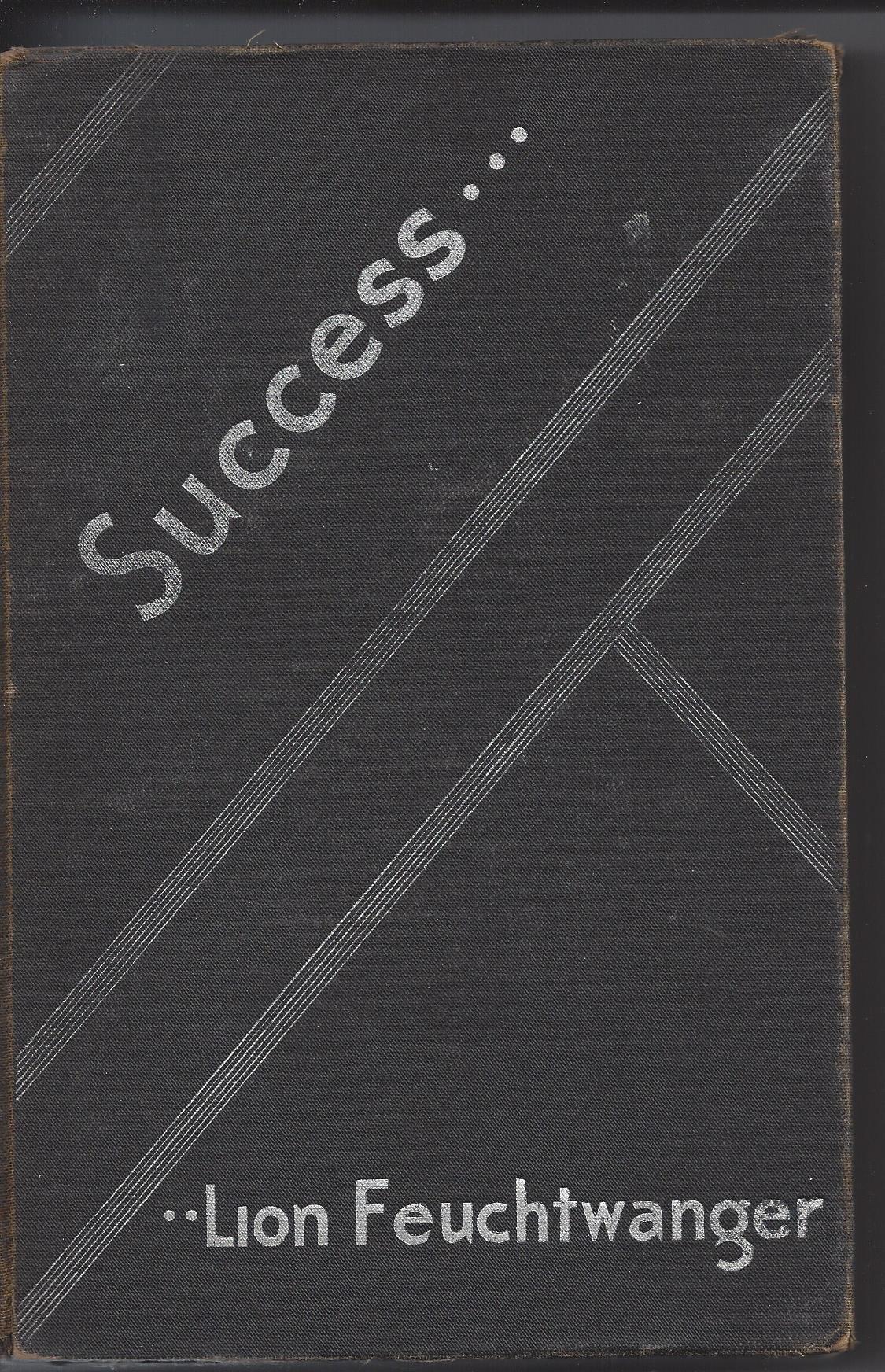 LION FEUCHTWANGER SUCCESS EBOOK DOWNLOAD