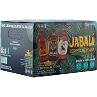 Cerveza Artesanal Jabalí Mixta 12 Pack Botella 330 Ml