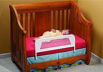 KidCo Convertible Crib Mesh Bed Rail White