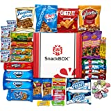 Delicious Candy Cookies & Chips Care Package Assortment Variety Pack Bundle Bulk Sampler (45 Count) SnackBOX Perfect Snacks for College Students During Final Exams, Father's Day and Gift Baskets