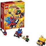 LEGO Marvel Super Heroes - Mighty Micros : Scarlet Spider contre Sandman - 76089 - Jeu de Construction