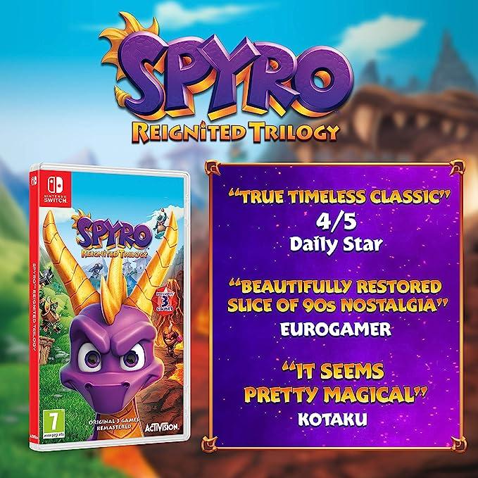 Spyro Trilogy Reignited - Nintendo Switch [Importación inglesa ...
