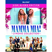 Mamma Mia! 2-Movie Collection (Blu-ray) [2018] [Region Free]