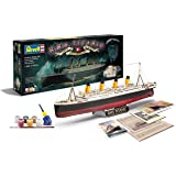 Revell RV05715 Control 1/400 Gift Set 100 Years Titanic Special Edit., Grigio