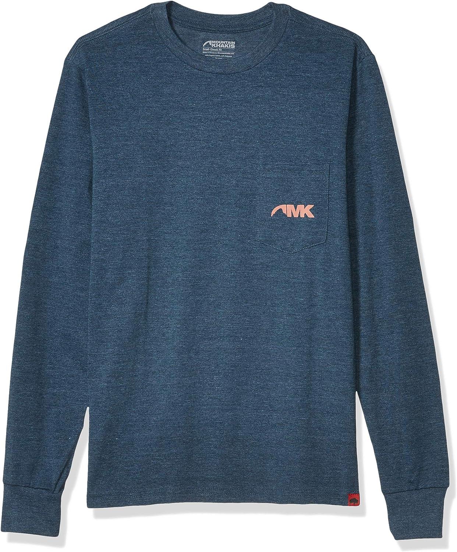 Mountain Khakis Mens Pocket Logo Long Sleeve T-Shirt