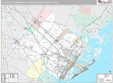 Amazon com: MarketMAPS Atlantic City-Hammonton, NJ Metro