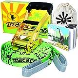 Macaco 16 Metre Slackline Set with Book and Bag