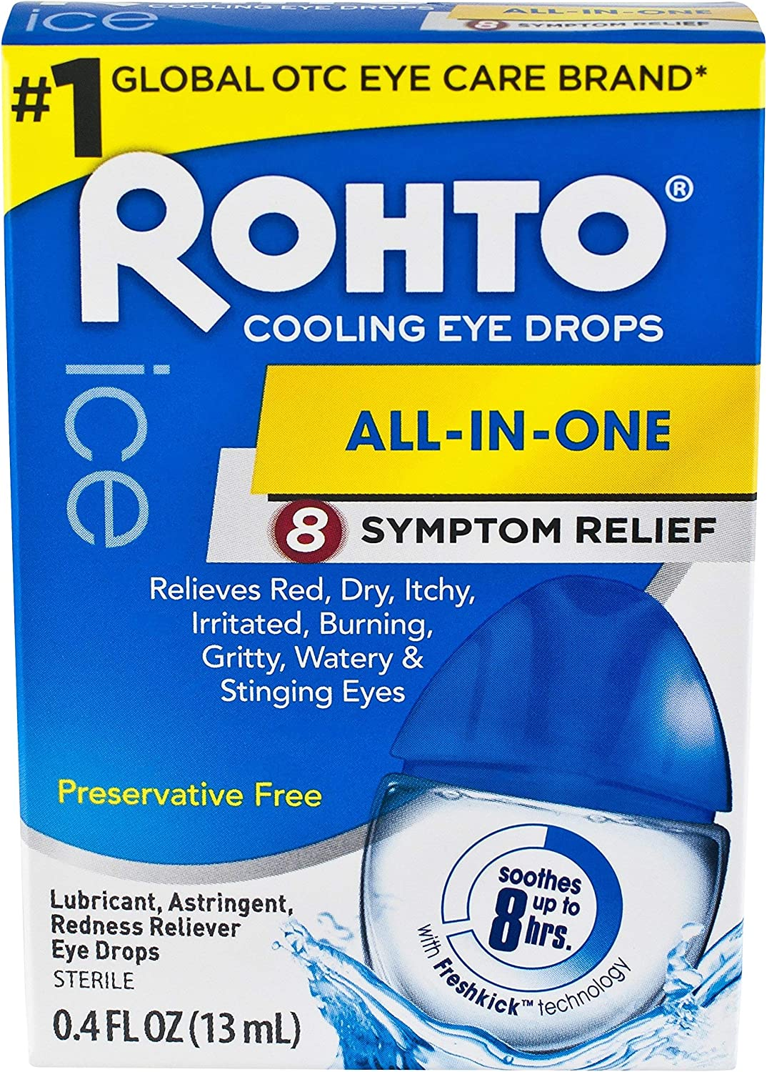 Rohto Eye Drops Cooling R Size Eye Drops Cooling Relief