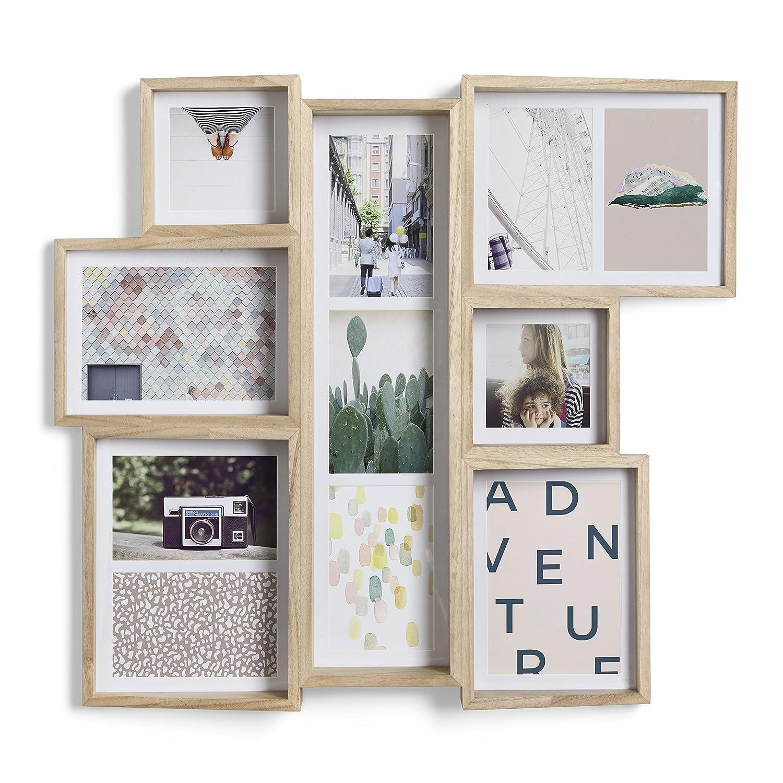 Umbra Edge Bilderrahmen Collage für 11 Bilder, Fotos, Kunstdrucke ...