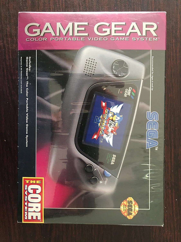 Game Gear Sega Portable Video Game System